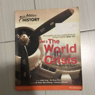 All About History: Unit 2 The World In Crisis