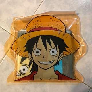 One Piece 海賊王 路飛 毛巾