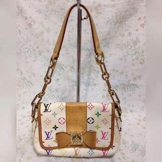Louis vuitton Classy Multicolor Handbag LV