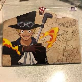 One Piece 海賊王 薩波 繪馬 明信片