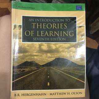 Theories Of Learning 7th Ed
