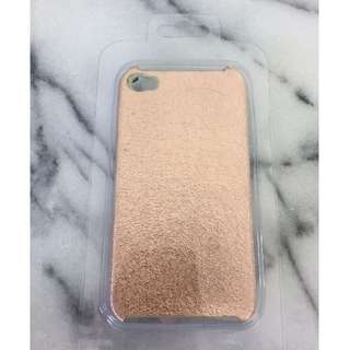 BNIB iPhone 4/4S Case - Rose Gold