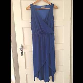 Forcast Blue Dress