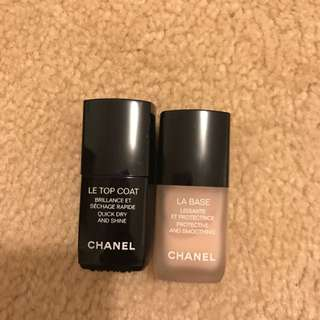 Chanel Base And Top Coat