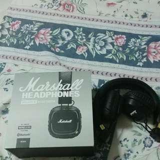 Marshall Major 2 / II Bluetooth Headset