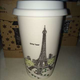 Eiffel Tower Mug/Cover Cup 巴黎鐵塔風格保溫瓷杯