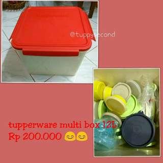 Tupperware Multi Box