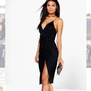 Boohoo Black Dress