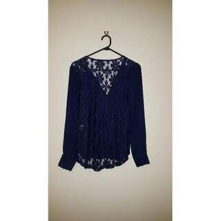 *REDUCED* Navy Blue Top