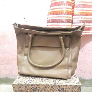 Parisian Brown Leather BAG