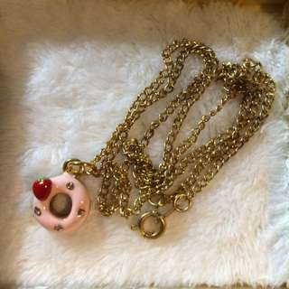 cute donut necklace 冬甩頸鏈