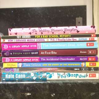 Assorted Children's and Young Adult's Books