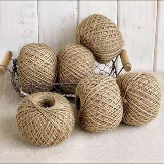 Natural Burlap String Hemp Twine Supply For Vintage And Rusty Craft