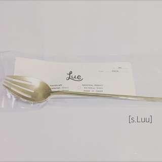 「s.Luu」現貨:日本職人 菊地流架 黃銅叉子