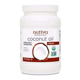 Nutiva 有機冷壓初榨椰子油 15oz, 444ml