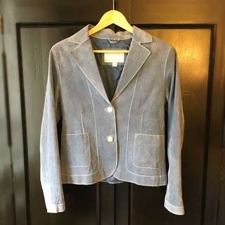 PRICE REDUCED -> Leather Blazer - Outerwear