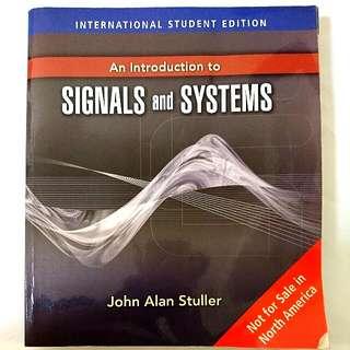 🚚 訊號與系統SIGNALS and SYSTEMS John Alan Stuller 大學電子系原文用書