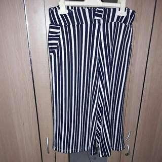 Celana Kulot Stripes