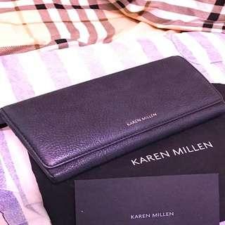 Authentic Karen Millen Wallet Leather