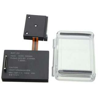 NEW GoPro Hero 4 Exended BacPac Battery 2100mAh Battery With Back Waterproof Cover
