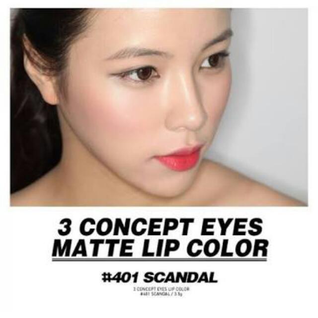 3CE Stylenanda Lipstick #401 Scandal