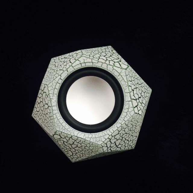 鑽石切割💎爆裂紋音箱/喇叭/手機喇叭/強悍立體低音