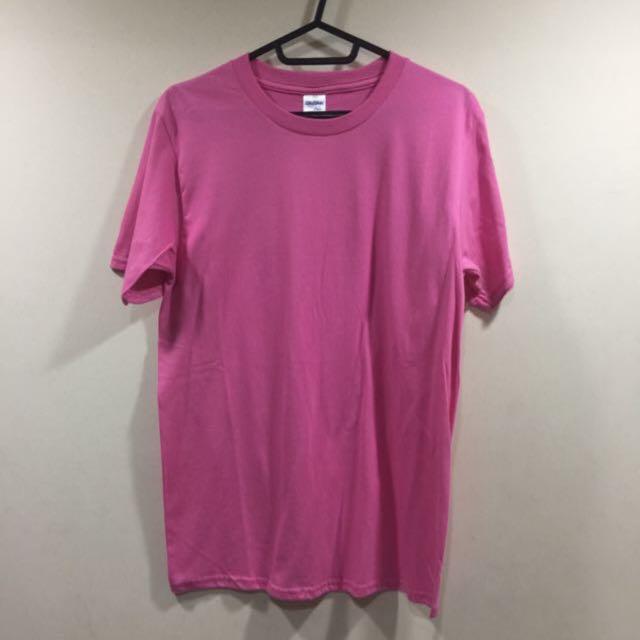 🔸桃粉色素面上衣