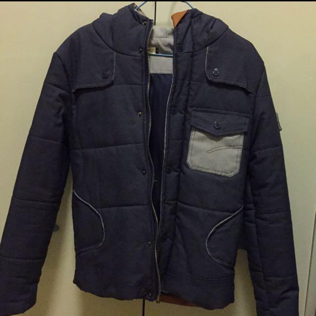 短版厚外套
