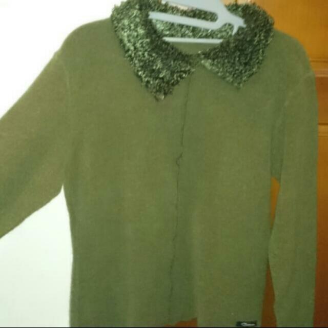 冬上衣,綠