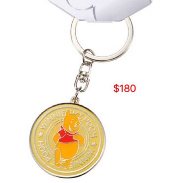 小熊維尼鑰匙圈
