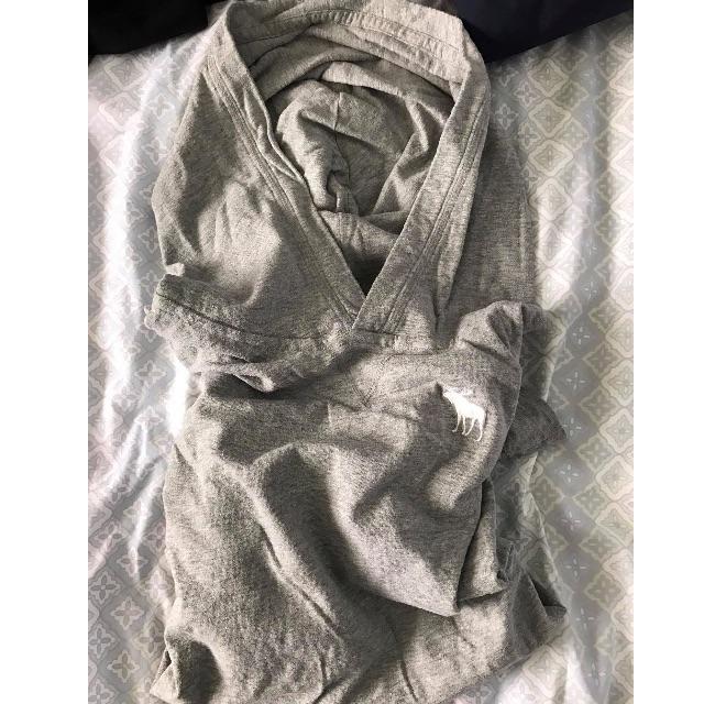 Abercrombie grey hoodie