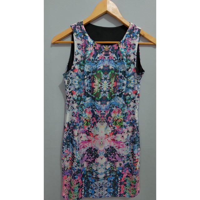 art pattern dress 02