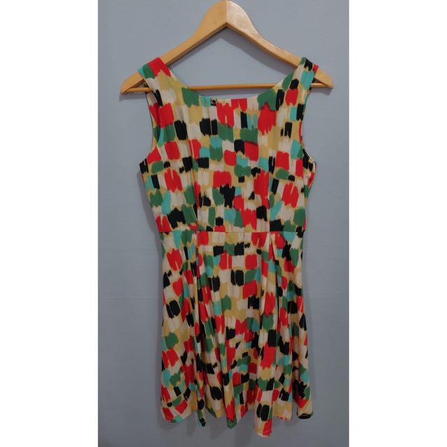 art pattern dress