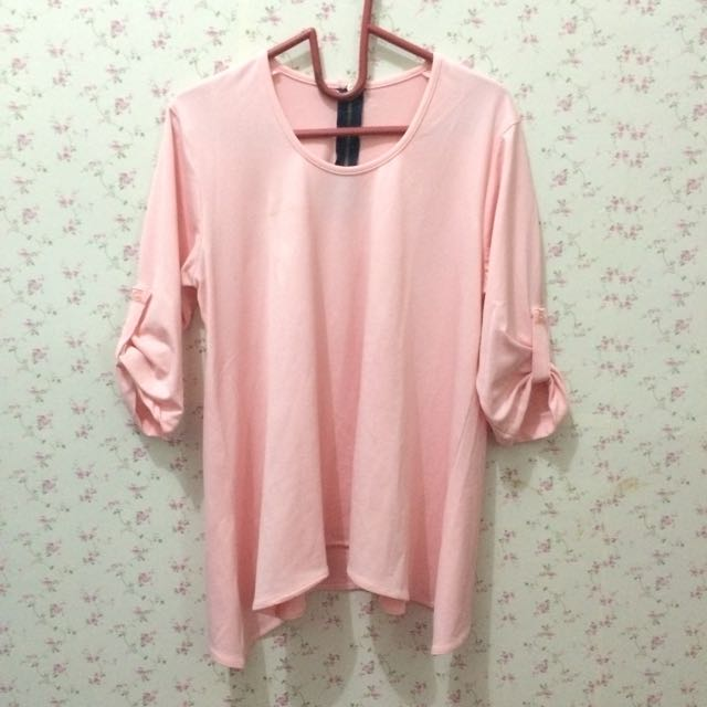 Atasan Pink A-Line
