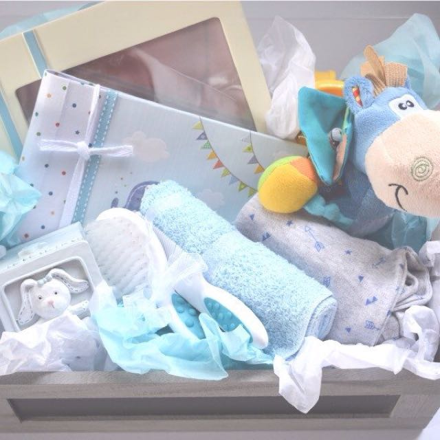 Baby Boy Blue Gift Box