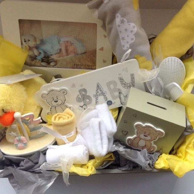 Baby Mellow Yellow Gift Box