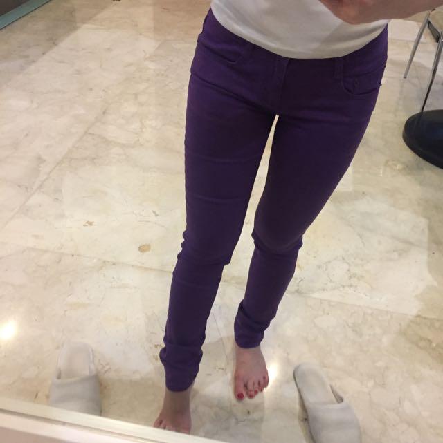 Baleno Jeans Ungu New
