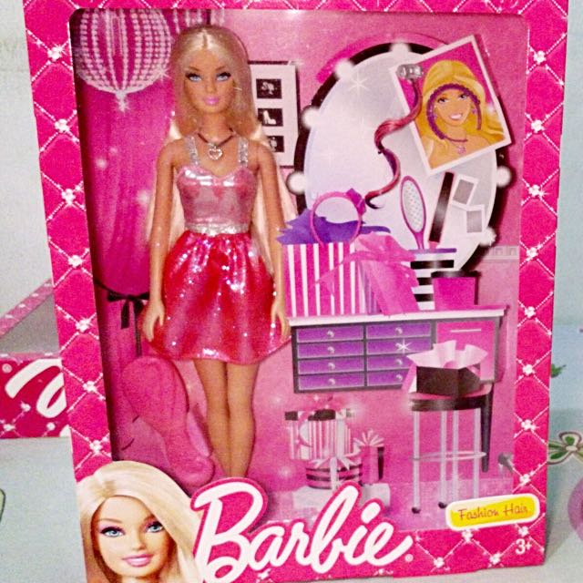 Barbie Fashion Hair