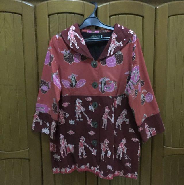 Batik Top (fit to XL)