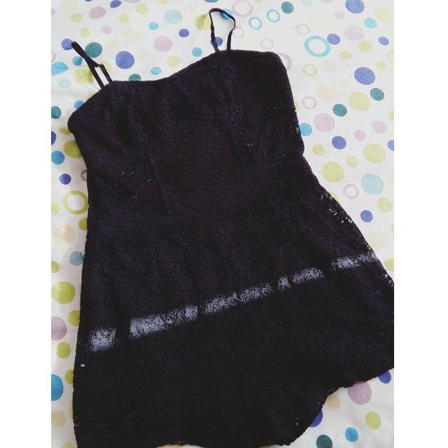 Black Lacy Playsuit