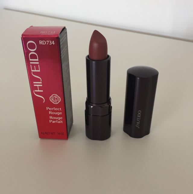 BNIB Shiseido Perfect Rouge RD734 Lipstick