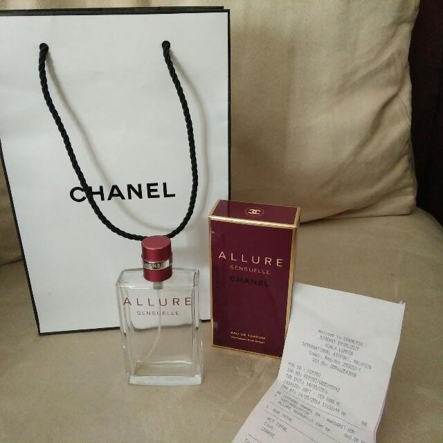 Botol Parfume ALLURE SENSUELLE CHANEL original