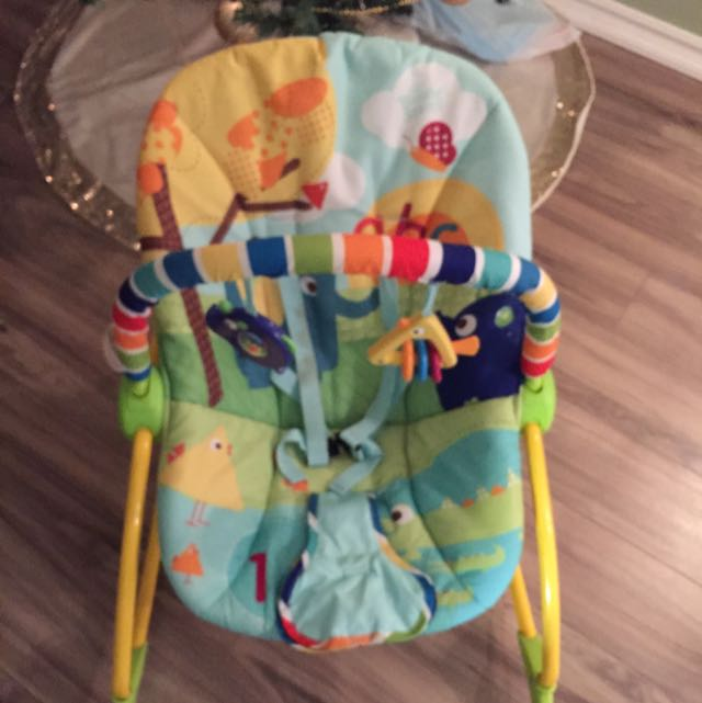 Bright Starts Rocking/ Bouncer Chair
