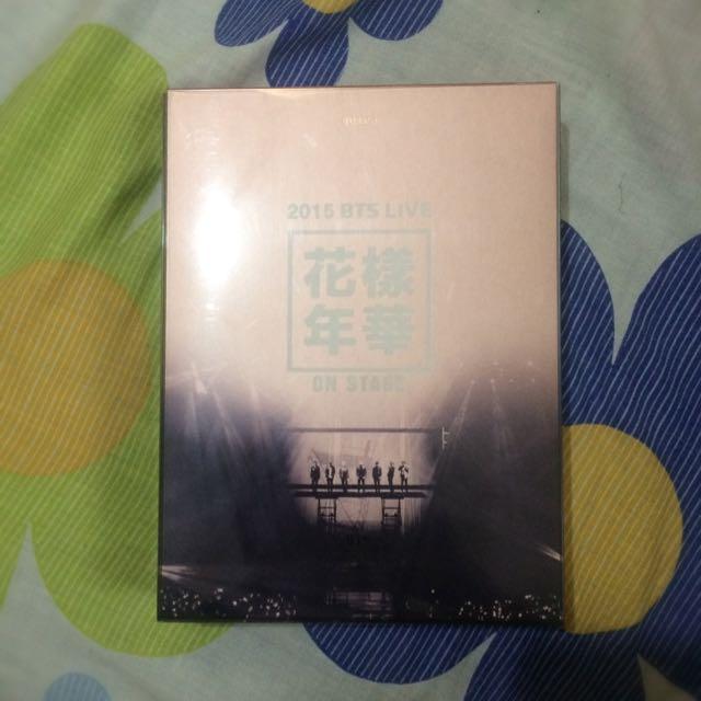 BTS LIVE ONSTAGE DVD