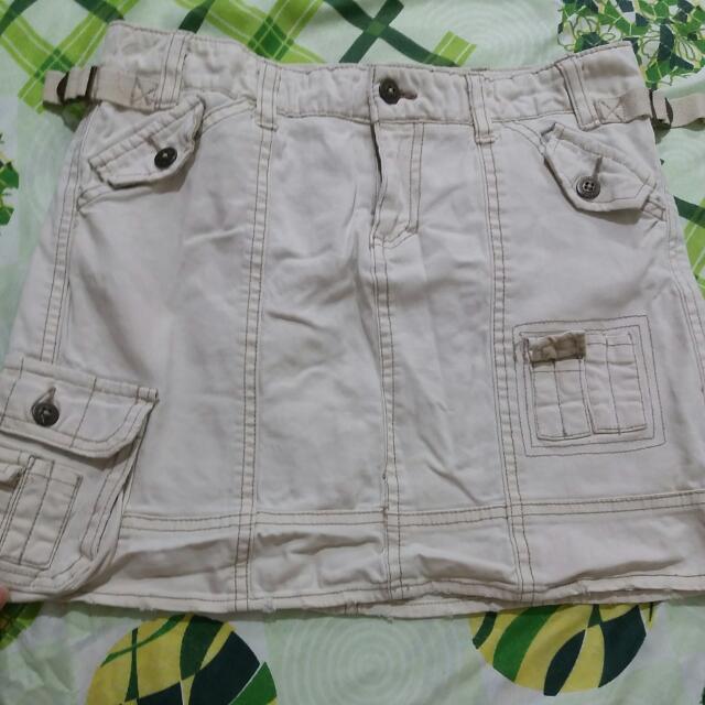 Cargo -ragged Skirt