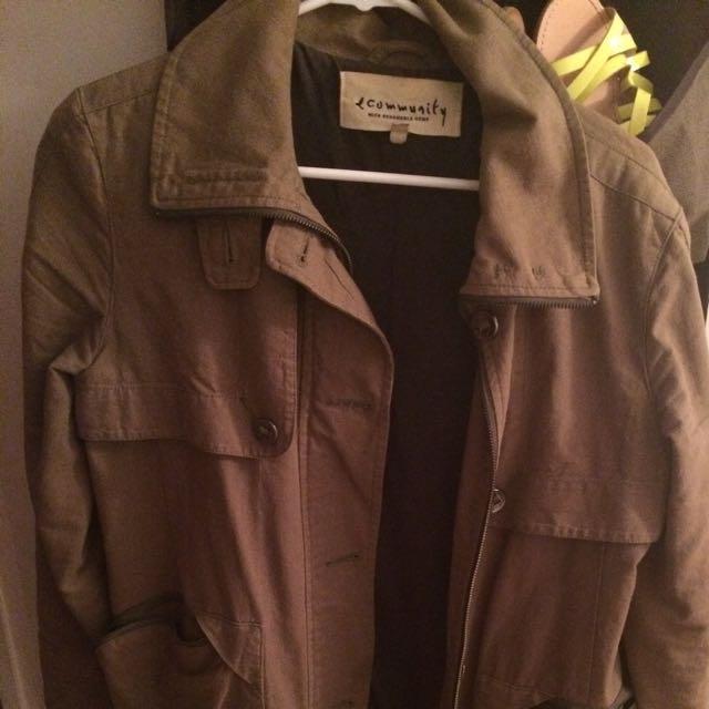 Community Fall/ Spring Jacket Xs