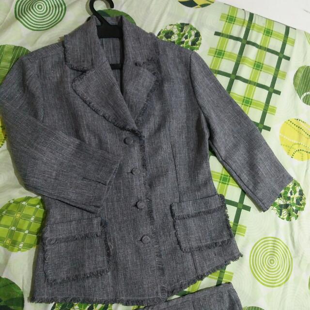 Corporate - Blazer And Skirt