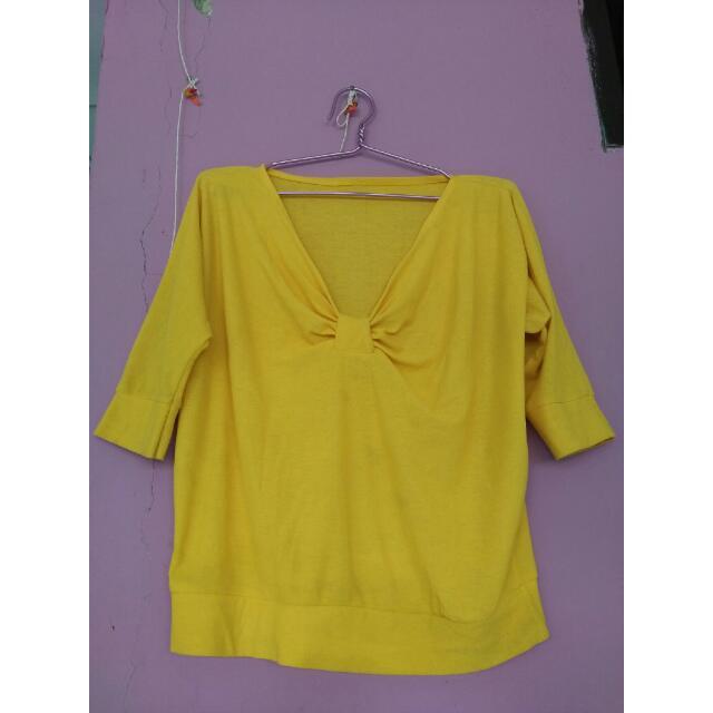 Crop Top Yellow