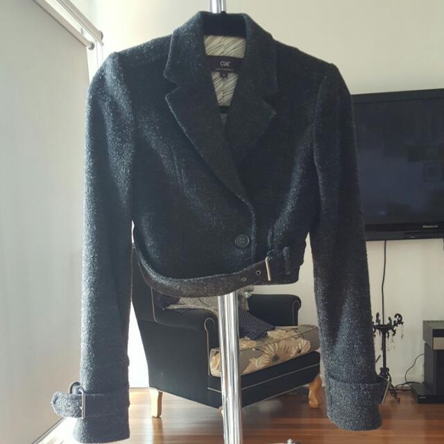 Cue Jacket Sz 6 Xs