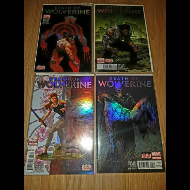 Death Of Wolverine #1-4 Complete Mini-series
